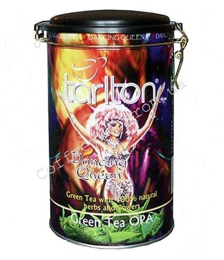 Чай зелёный Tarlton Dancing Queen Танец Королевы 300 г ж/б.
