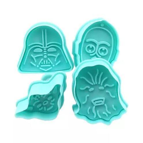 Формочки для печенья Звездные Войны (Star Wars) - 4 шт