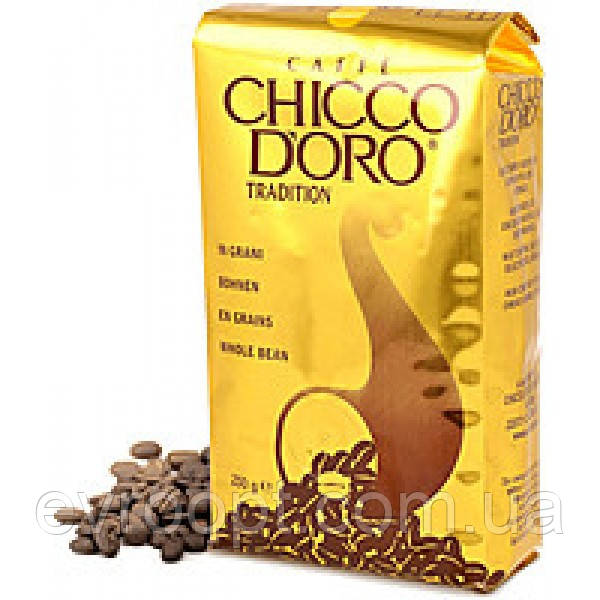 Кофе в зернах Chicco Doro Tradition 100% arabica 500 г