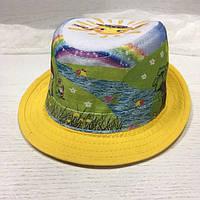 Шляпка детская солнышко
