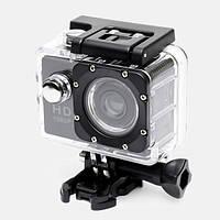 Экшн камера Full HD 1080P GoPro реплика + водонепроницаемая + набор креплений , фото 1