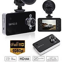 Видеорегистратор автомобильный DVR K6000 Full HD Black