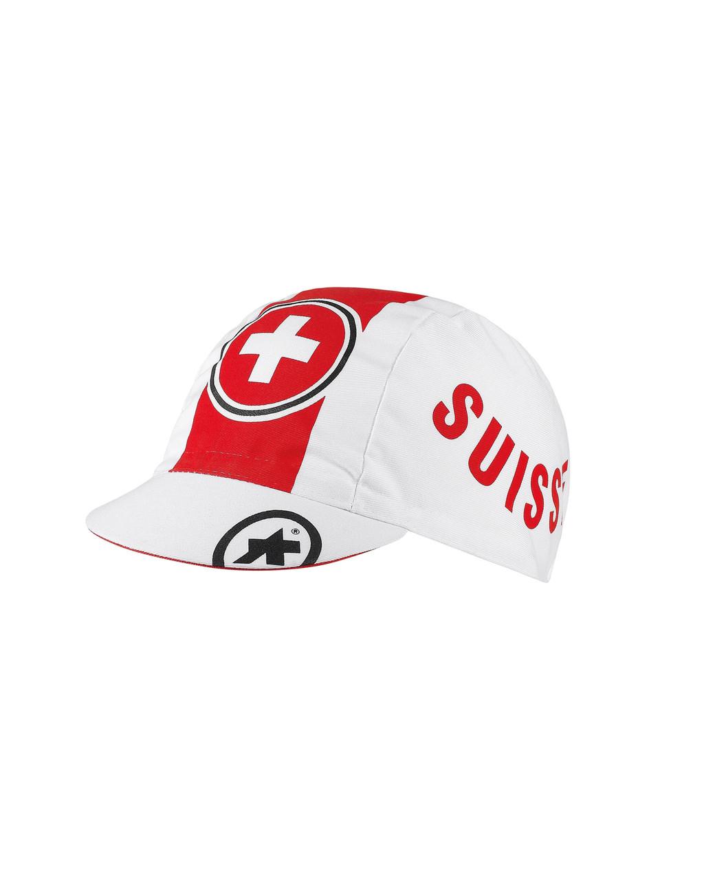 Шапка ASSOS літо Collaborations_Suisse Fed Cap (48-53 см)