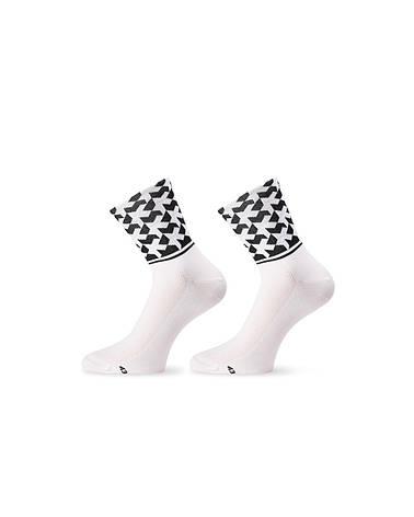 Шкарпетки ASSOS літо monogramSock_evo8 білий 43-46, фото 2