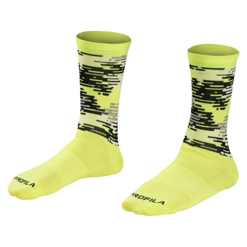 Шкарпетки Bontrager Race LTD L QTR L YL жовтий