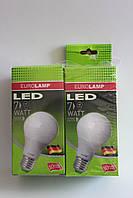 Лампа светодиодная энергосберегающая LED A60 7W E27 4000К Яркий свет