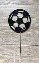 Топпер футбольный мяч, футбольный мяч на палочке в торт, топпер футболисту, футбольный топпер, Fortune3D