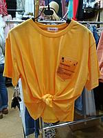 Женская укороченная футболка