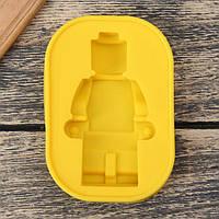 Силиконовая форма для шоколада Lego Человечек Лего 11 х 8 х 2 см