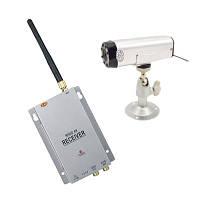 Комплект из беспроводной автономной камеры с аккумулятором С-501 + приёмник видеосигнала  (модель CRP-501 kit)