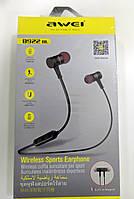 Спортивні Bluetooth навушники (гарнітура) Awei B922BL