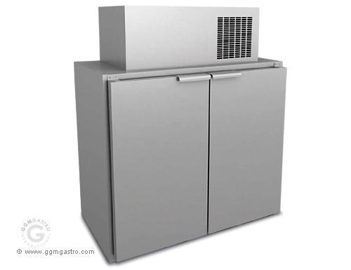 Охолоджувач бочок 6 х 50 літрів / с агрегатом FKT151 # DFT350