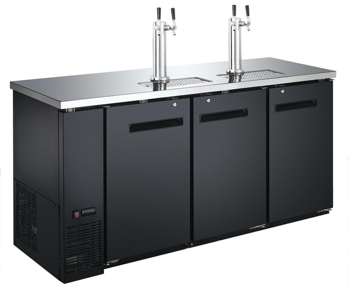 Охолоджувач пива з краном зливу - 556 літрів - 3 двері BKZG1869N