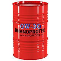 Моторное масло NANOPROTEC 0W-30, 200 л.