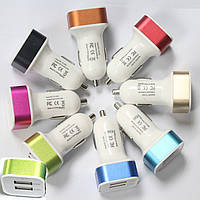 Car charger 2 USB 1A!Акция
