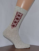 Мужские носки из качественного льна с украинской символикой (Рубежное)
