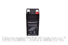 Аккумулятор NOKASONIK 4 v-4.5 ah 480 gm!Акция