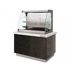 Вітрина холодильна 1,4 м BVI800-KV3