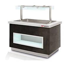 Холодильна вітрина для морозива - глибина 150 мм ETI411