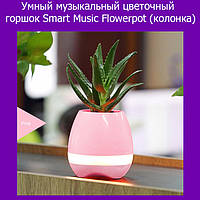 Умный музыкальный цветочный горшок Smart Music Flowerpot (портативная колонка)!Лучший подарок