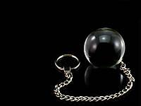 Стеклянный вагинальный шарик Размер 3 см