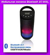 Мобильная колонка Bluetooth BT-809L,Радиоприемник колонка с Bluetooth!Лучший подарок