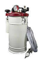 Клеенаносящая установка 10 кг со стандартным пистолетом с увеличенным потоком с ручным управлением