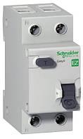 """Дифференциальный автоматический выключатель EZ9 1Р+N/10А/30мА/тип """"АС"""""""