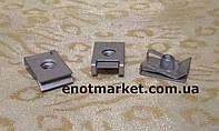 Монтажная металлическая пластина универсальная много моделей авто. ОЕМ: 694383, 7703046034, 949921, фото 1