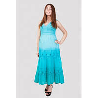 Женское  платье большого размера хлопок