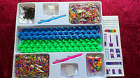 Новые наборы резинок 3000 шт для плетения браслетов Rainbow Loom