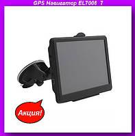 "GPS Навигатор EL7008 7"",автомобильный навигатор,автомобильный GPS,GPS в авто!Акция, фото 1"