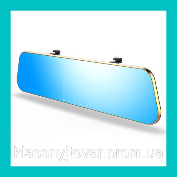 Зеркало с видеорегистратором и двумя камерами DVR DV460!Акция
