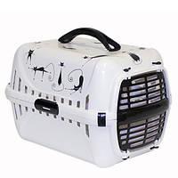 Moderna (Модерна) Роуд-Раннер 1 Силуэт Кота переноска для собак и котов с пластиковой дверью