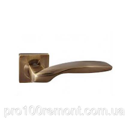 Ручка дверная на розетке NEW KEDR R08.045-AL-AB, фото 2