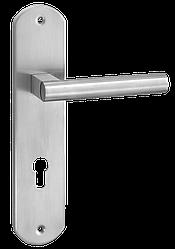 Ручка дверная на розетке S-1480-85 SS