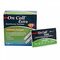 Тест полоски On-Call Extra (Он Колл Экстра) 25 шт.