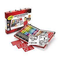 Crayola Набор для творчества в чемодане 62 предмета Virtual Design Pro-Cars Set, фото 1