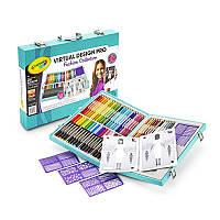 Crayola Набор для творчества в чемодане дизайнер Virtual Design Pro-Fashion, фото 1