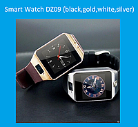 Смарт часы Smart Watch DZ09 (black,gold,white,silver)!Акция, фото 1