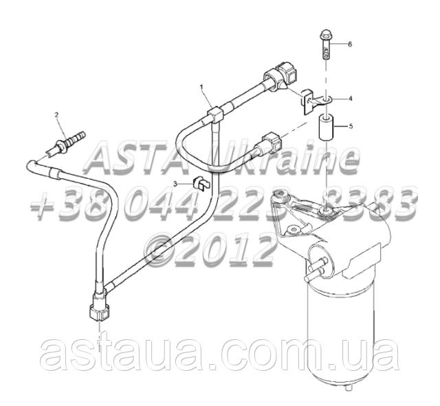 ТНВД, двигатель 1104C-44Т, RG38101 Г1-22-3