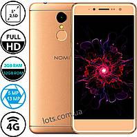 Смартфон Nomi i5050 Evo Z 3/32Gb Gold