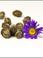 Чай связанный Кан Най Синь (Шарик с цветком гвоздики)