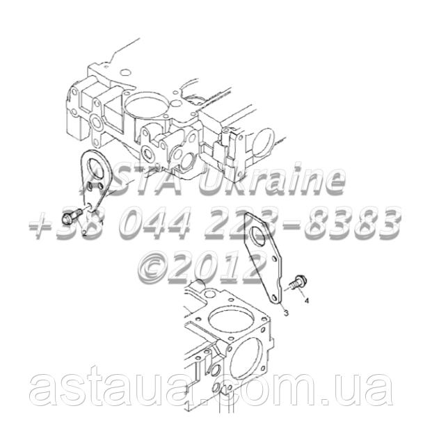 Детали двигателя 1104C-44T, RG38101 G1-24-1