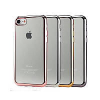Накладка для iPhone 7/iPhone 8 Electroplated Soft TPU Case Infinity Золотий