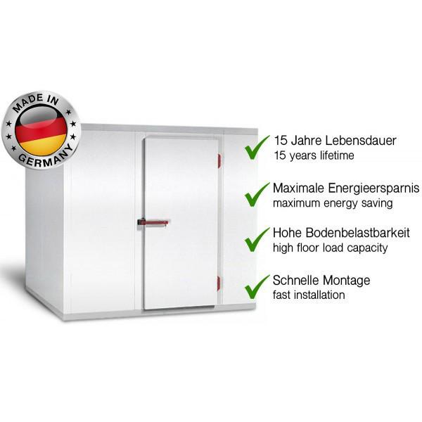 Холодильна камера 1,56 x 2,26 м - висота 2,1 м KC1522