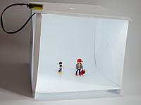 Лайткуб (портативная фото студия со светодиодной подсветкой)