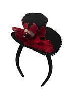 Карнавальная шапка Penny 11х20см Черный, Красный