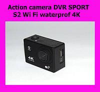 Action camera DVR SPORT S2 Wi Fi waterprof 4K!АКЦИЯ, фото 1