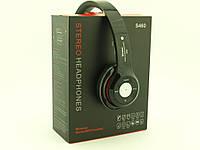 Wireless S460 Headphones (реплика beats solo 2) bluetooth гарнитура наушники с FM MP3, черные | AG330051